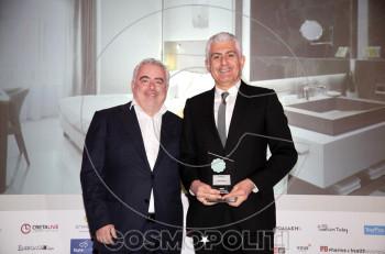 5 βραβεία στα ξενοδοχεία Grand Hotel Palace και Mediterranean Palace