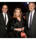 STF_6245_Jean-Agon, CEO of L'Oréal, Catherine Deneuve, Nicolas Hieronimus, L'Oréal Députy CEO in charge of Divisions