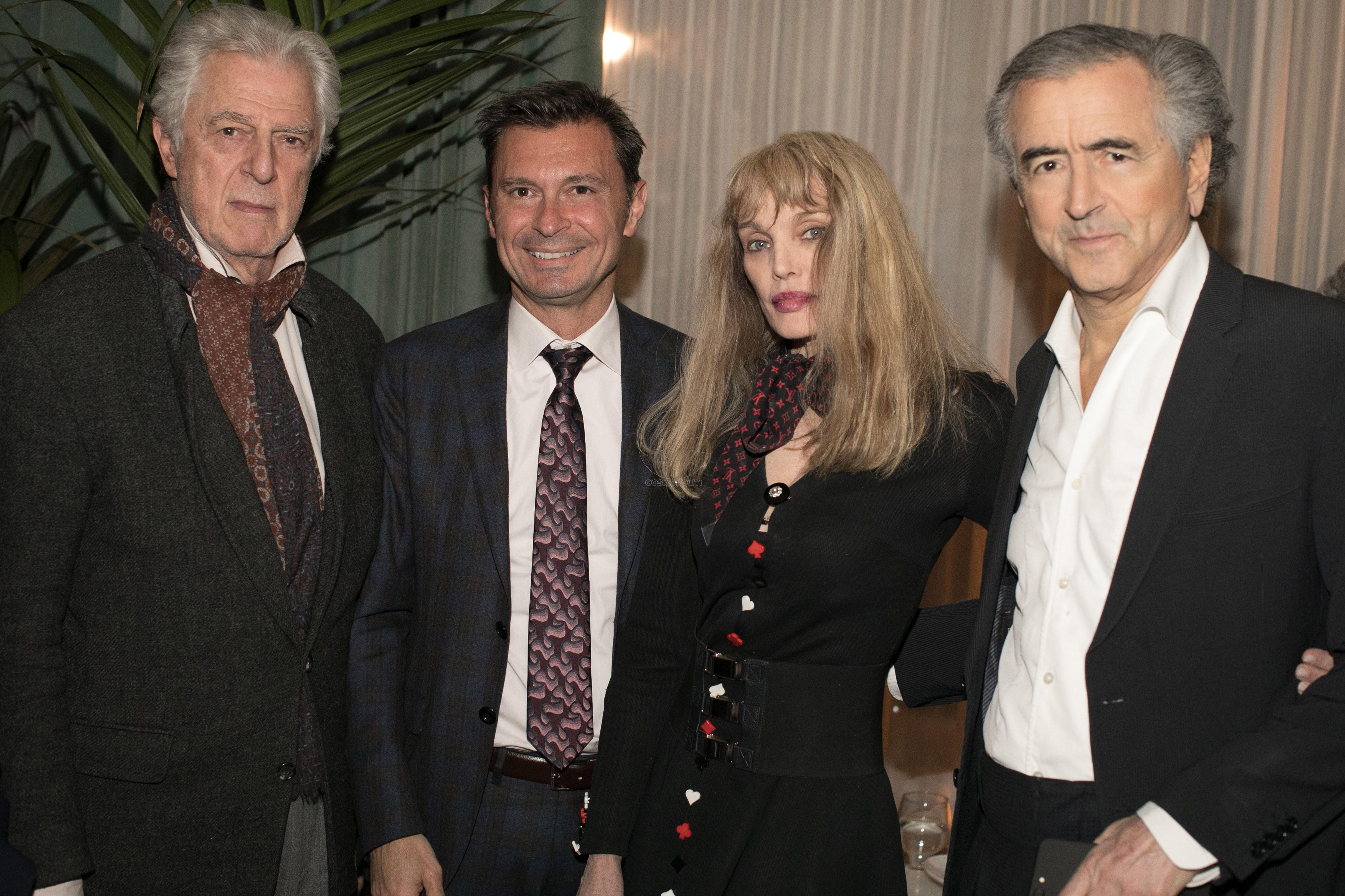 Αχιλλέας Τσάλτας, Arielle Dombasle, Bernard-Henri Lévy