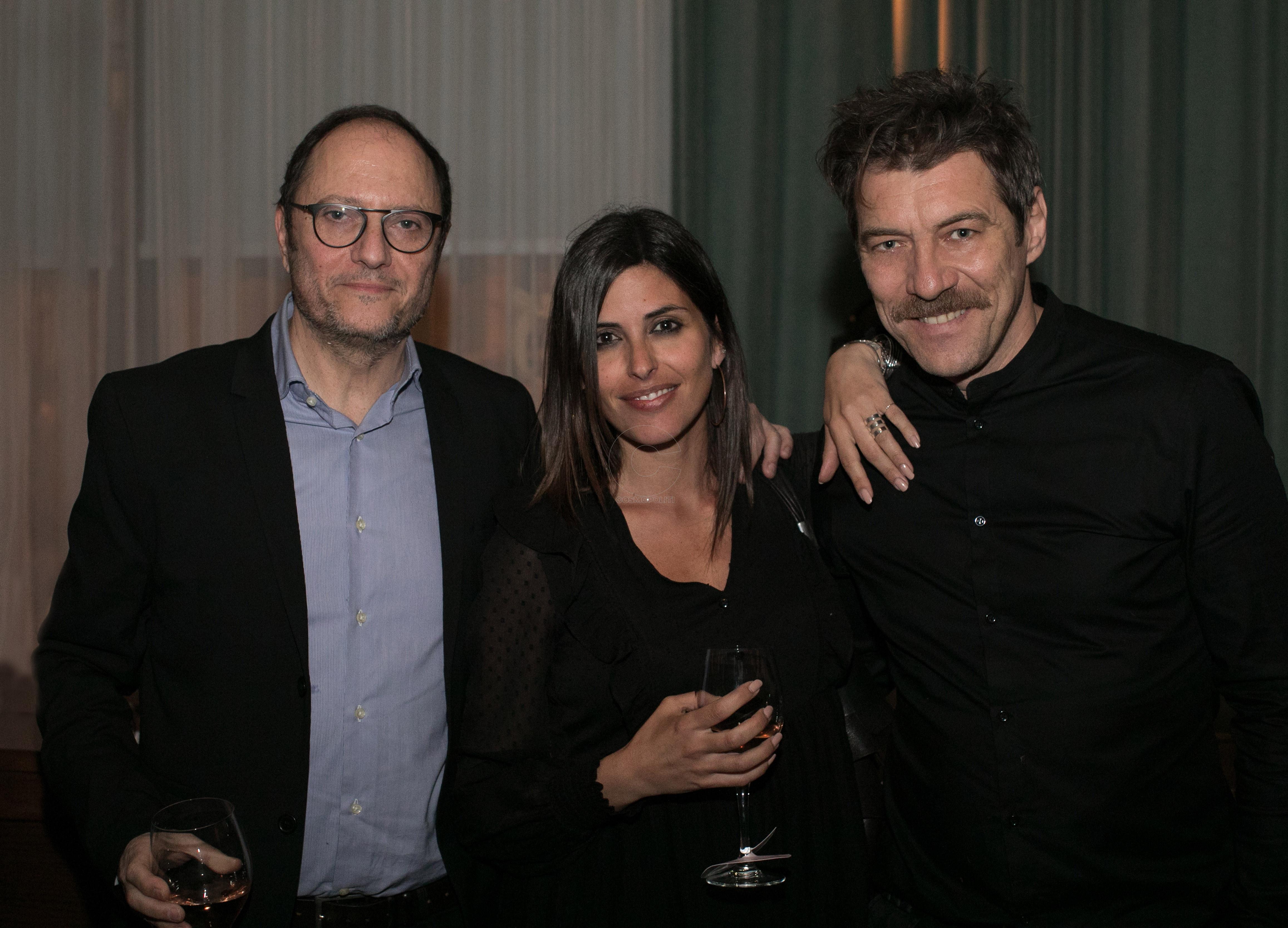 Στηβ Κρικρής -Chiara Gensini - Γιάννης Στάνκογλου