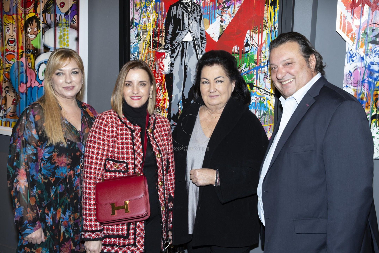 1 Μαρίνα Καποπούλου, Αλεξία Πάνου, Μαρία Ιωαννίδου, Βαγγέλης Καπόπουλος