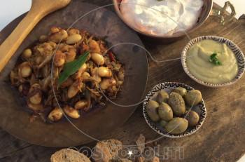 Συνταγή: νηστίσιμοι γίγαντες φούρνου με λαχανικά