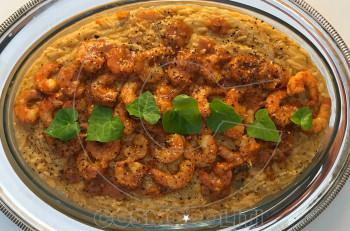 Συνταγή: Κριθαρότο με γαρίδες
