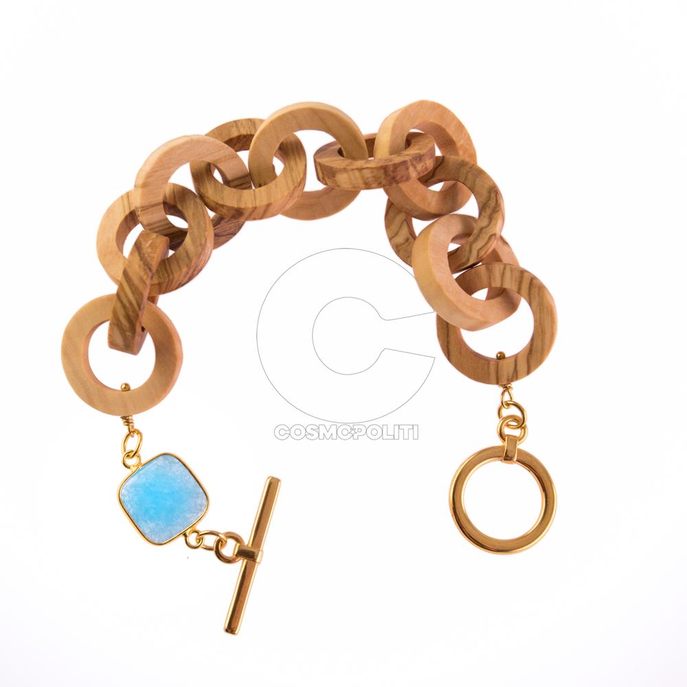 apoxylo 501 βραχιολι ελια στρογγυλο μπλε