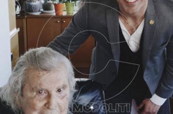 """Η ταινία """"The Greek job"""" ενώνει Μίκη Θεοδωράκη & Άνθιμο Ανανιάδη"""
