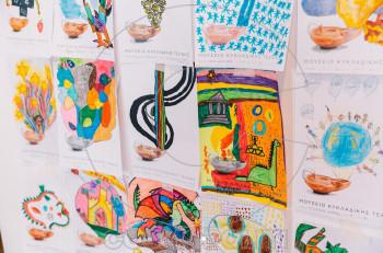 Φαντάσου τι κρύβει το λυχνάρι: Έκθεση παιδικής ζωγραφικής στο Μουσείο Κυκλαδικής Τέχνης