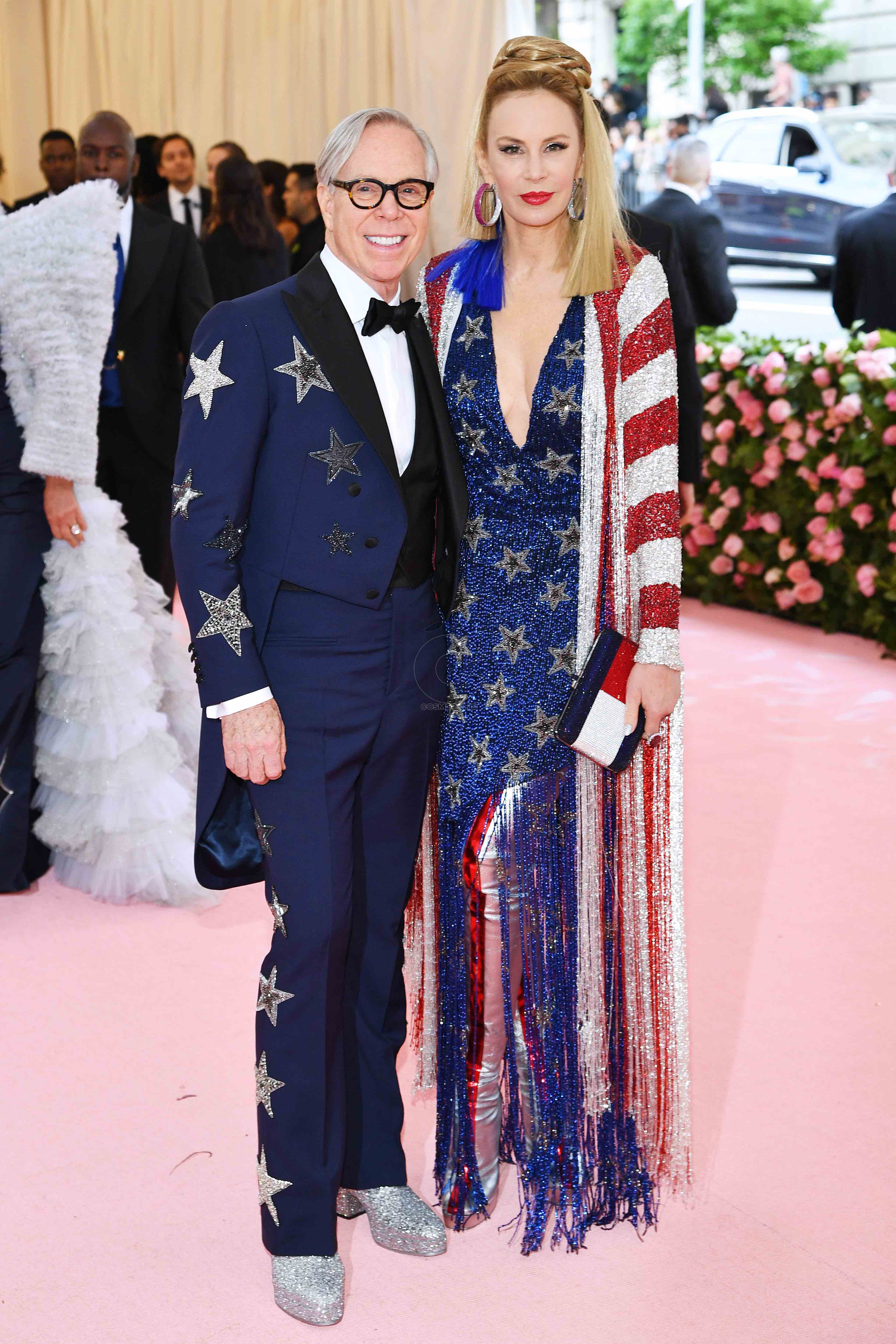 NEW YORK, NEW YORK - MAY 06: Tommy Hilfiger and Dee Hilfiger attend The 2019 Met Gala Celebrating Camp: Notes on Fashion at Metropolitan Museum of Art on May 06, 2019 in New York City. (Photo by Dimitrios Kambouris/Getty Images for The Met Museum/Vogue)