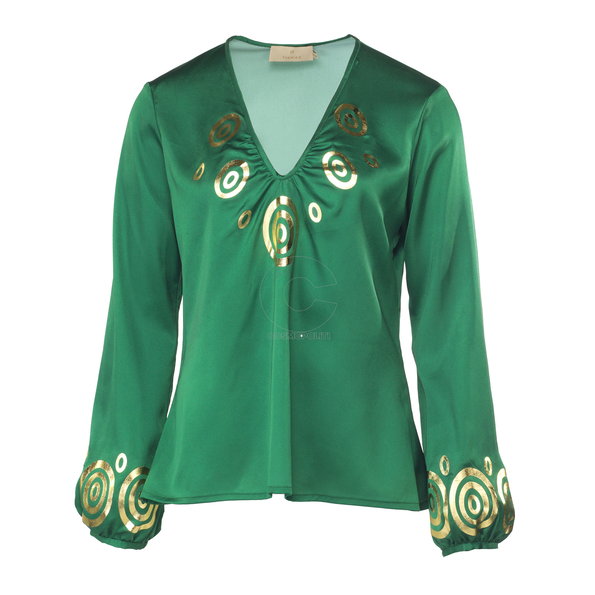 VICTORIE BLOUSE GREEN