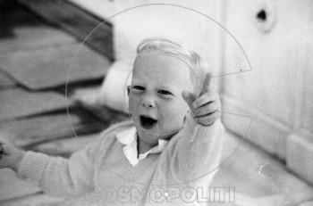 Ο Παύλος Γερουλάνος όταν ήταν παιδί…