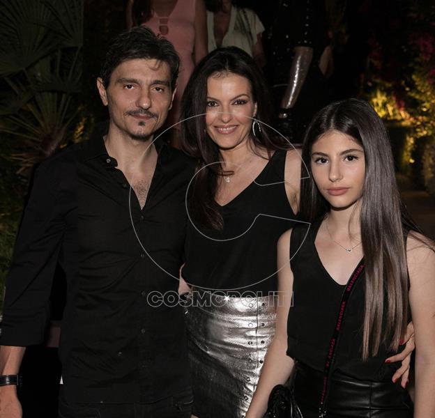 Ο Δημήτρης Γιαννακόπουλος με τη σύζυγο του Ιωάννα Μαροσούλη και την κόρη τους (Copy)