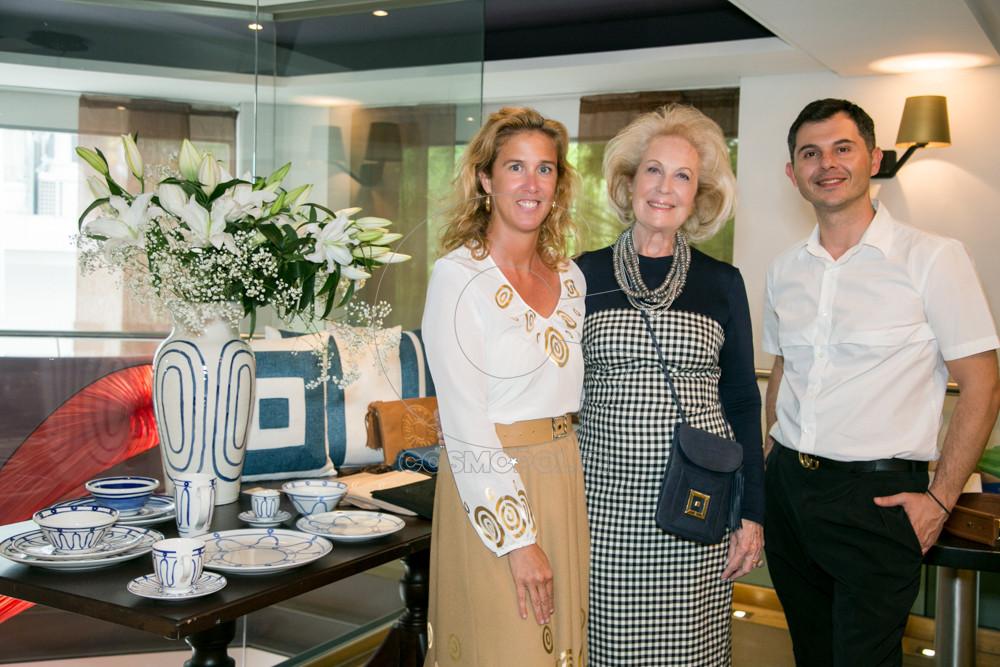 0 Η Θέμις Ζουγανέλη με την Ηρώ Τζελέπογλου και τον Marketing Director του THEMIS Z Γιώργο Δέδε