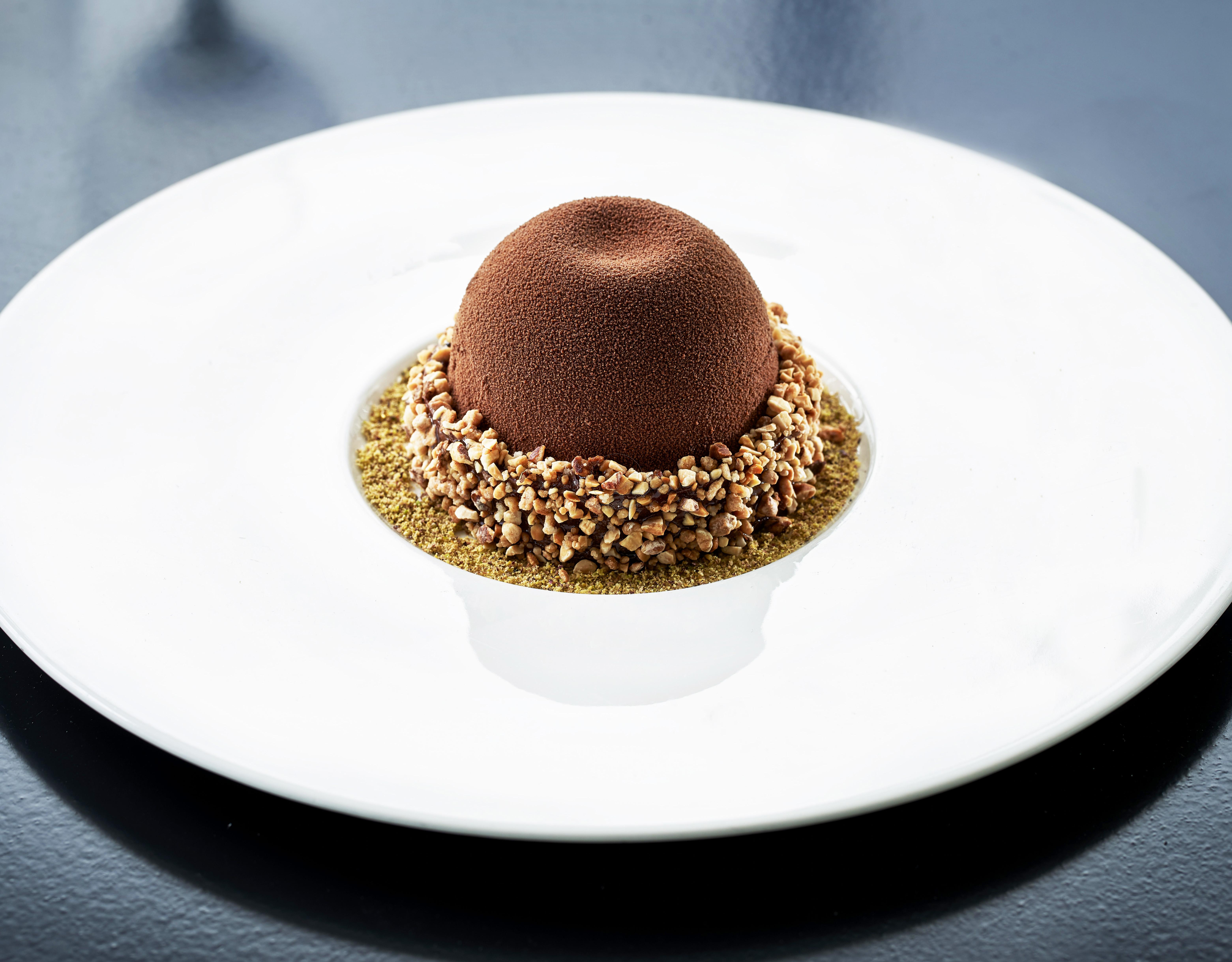 Dark Chocolate Crémeux Tart