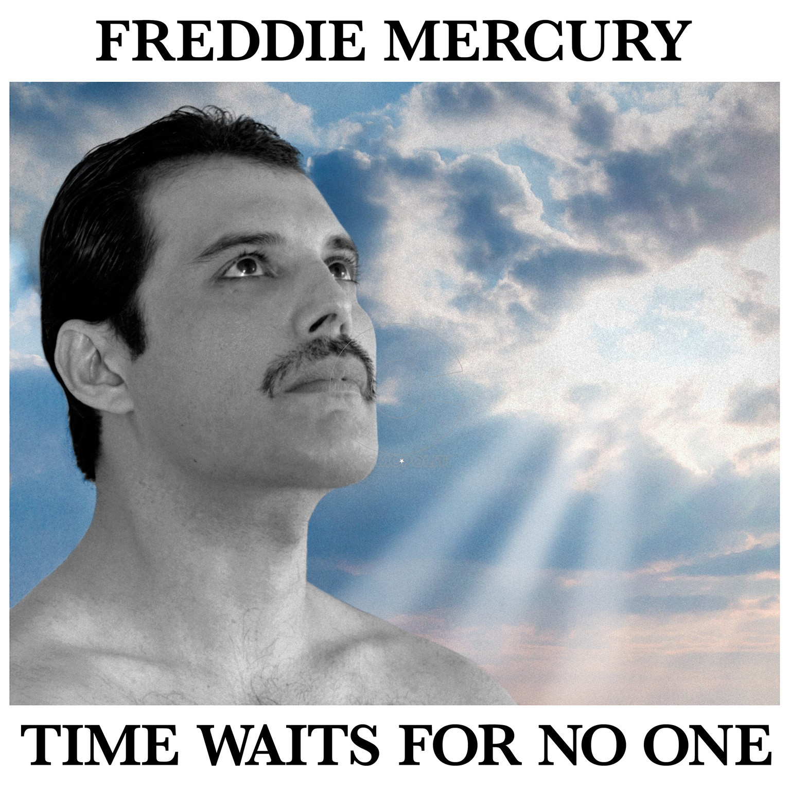 Freddie Mercury - Time Waits For No One - Cover Art