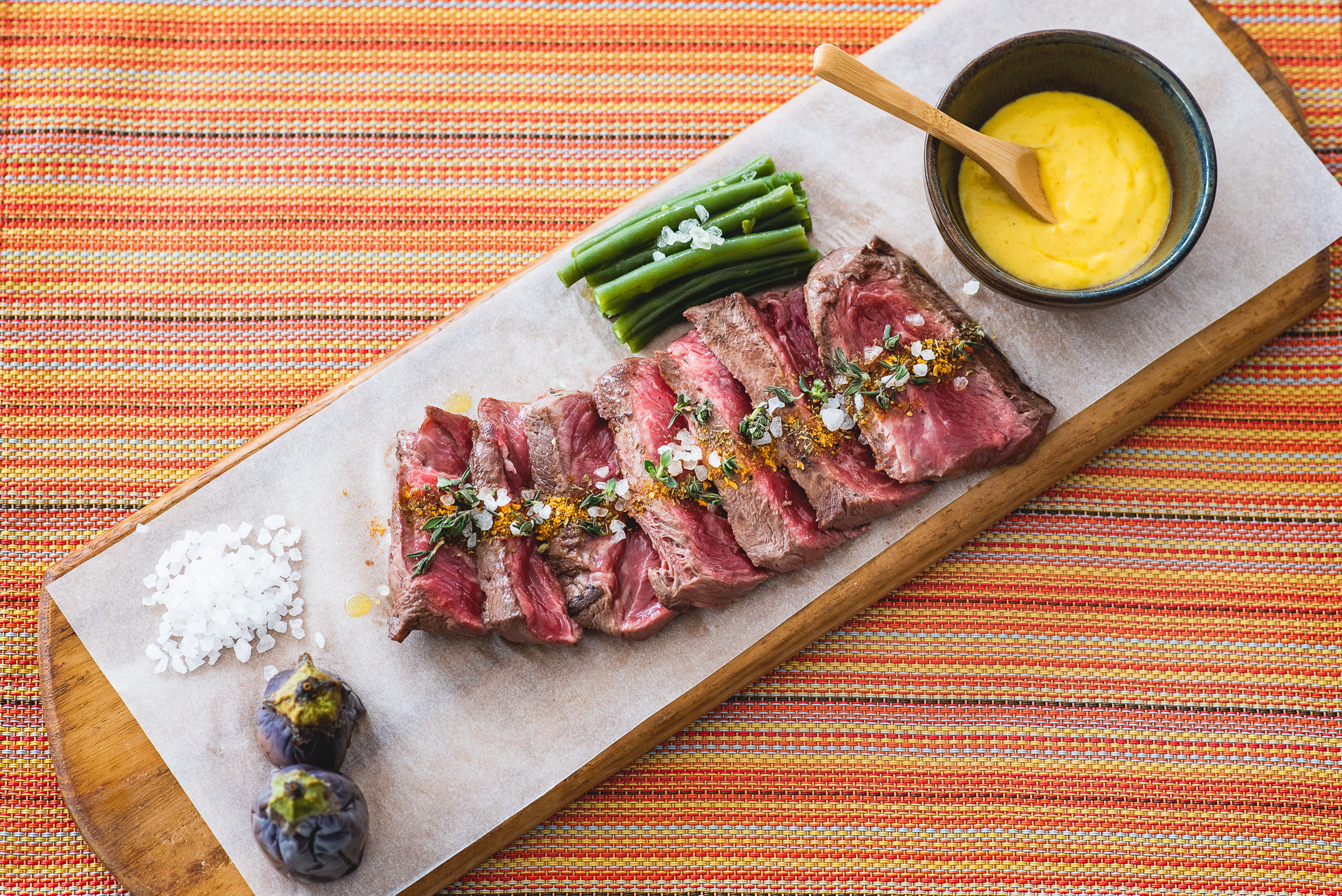 Grilled Flat Iron Beef
