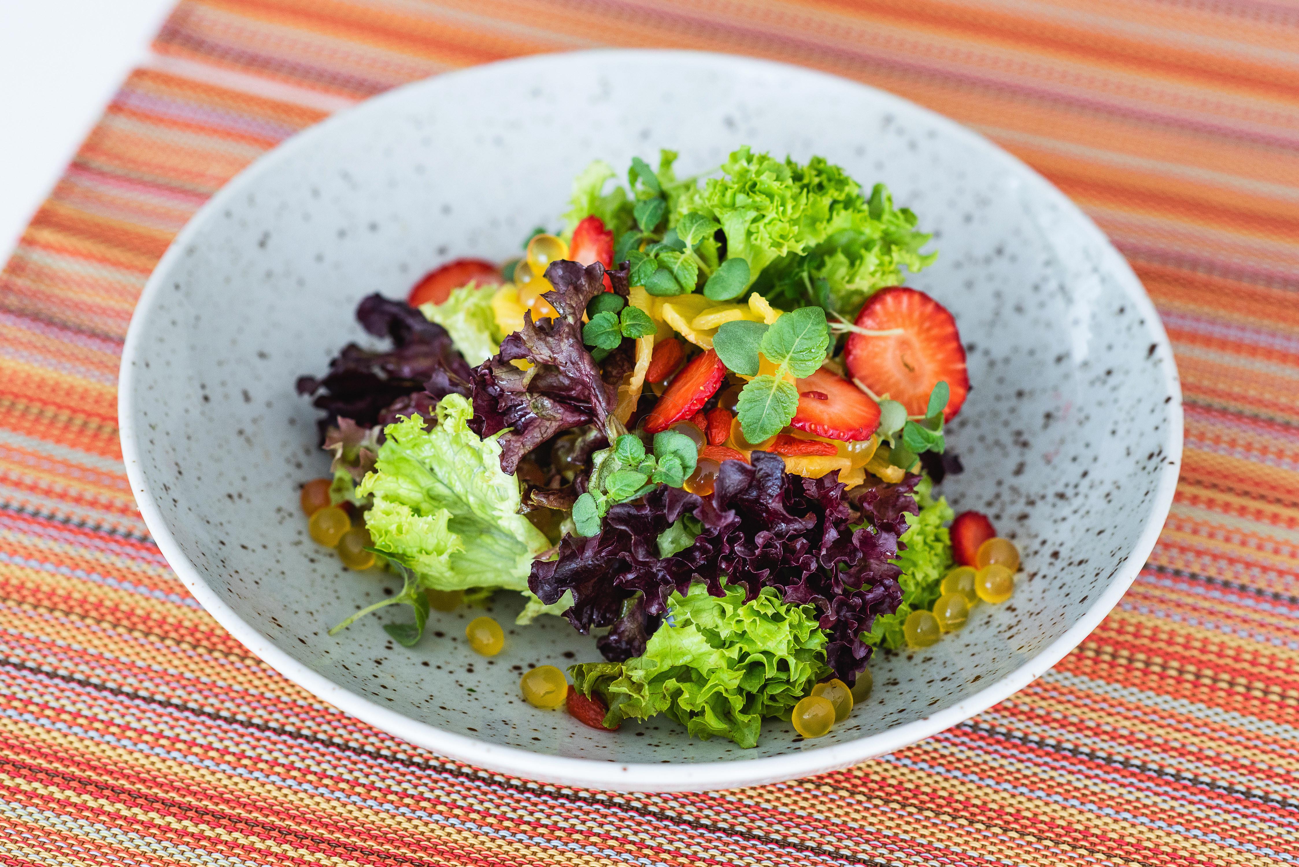 Roasted Pineapple Salad