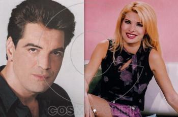 Eλένη Μενεγάκη & Κώστας Ευριπιώτης: μαζί σε σίριαλ το 1992