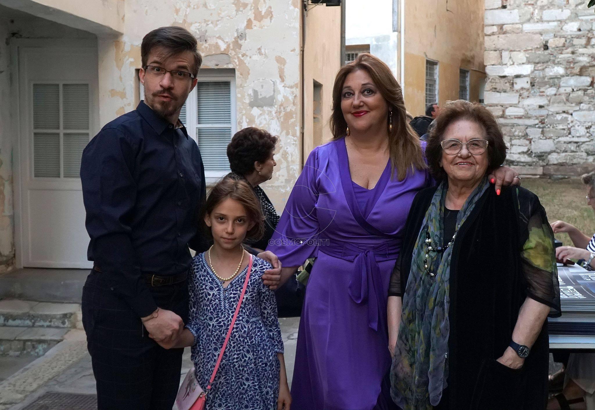 Αθανάσιος Κολαλάς, Άννα Μυκωνίου, Ιωάννα Μανωλεδάκη