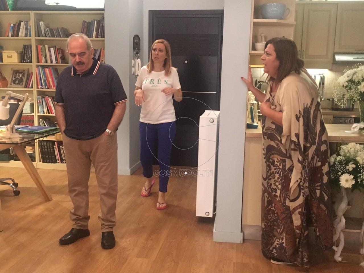 Ερρίκος Λίτσης, Άννα Κουτσαφτίκη, Ελισάβετ Κωνσταντινίδου