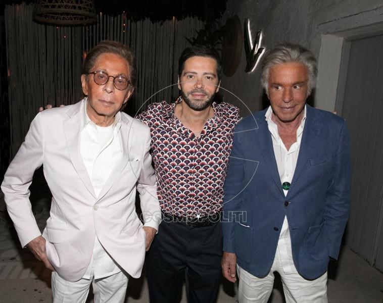 2.Valentino, Chrysanthos Panas, Giancarlo Giammetti