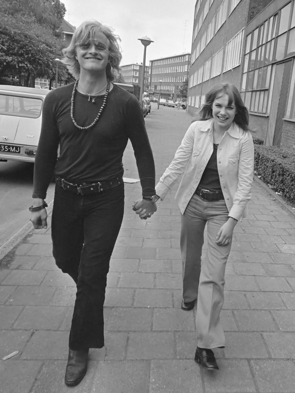 Verfilming van Turks Fruit (naar de roman van Jan Wolkers uit 1969) door Paul Verhoeven: Rutger Hauer en Monique van de Ven  *7 juni 1972