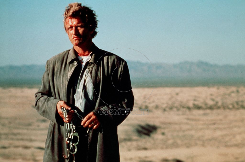 Editorial use only Mandatory Credit: Photo by ITV/Shutterstock (786885an) 'The Hitcher' film - Rutger Hauer GTV ARCHIVE