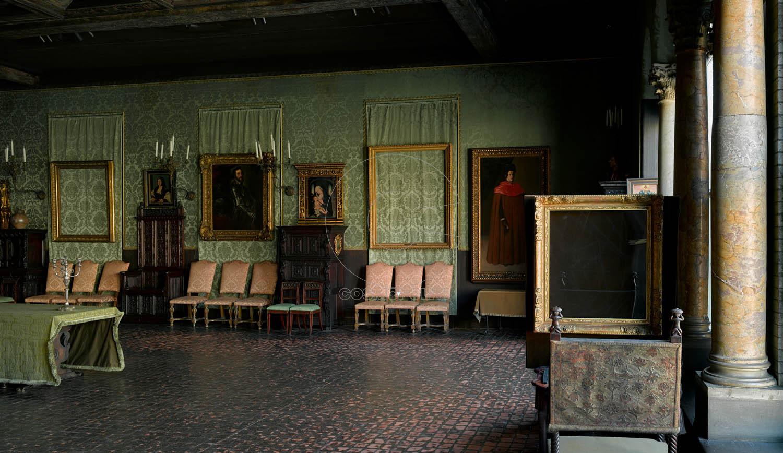 Dutch Room, Isabella Stewart Gardner Museum, Boston. Photo: Sean Dungan