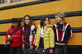 Eπιστροφή στο σχολείο με τη φθινοπωρινή συλλογή Tommy Hilfiger Κids 2019