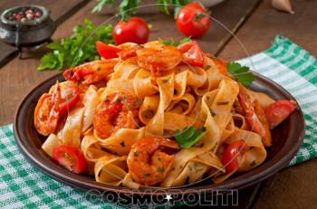 Συνταγή για φετουτσίνι με γαρίδες