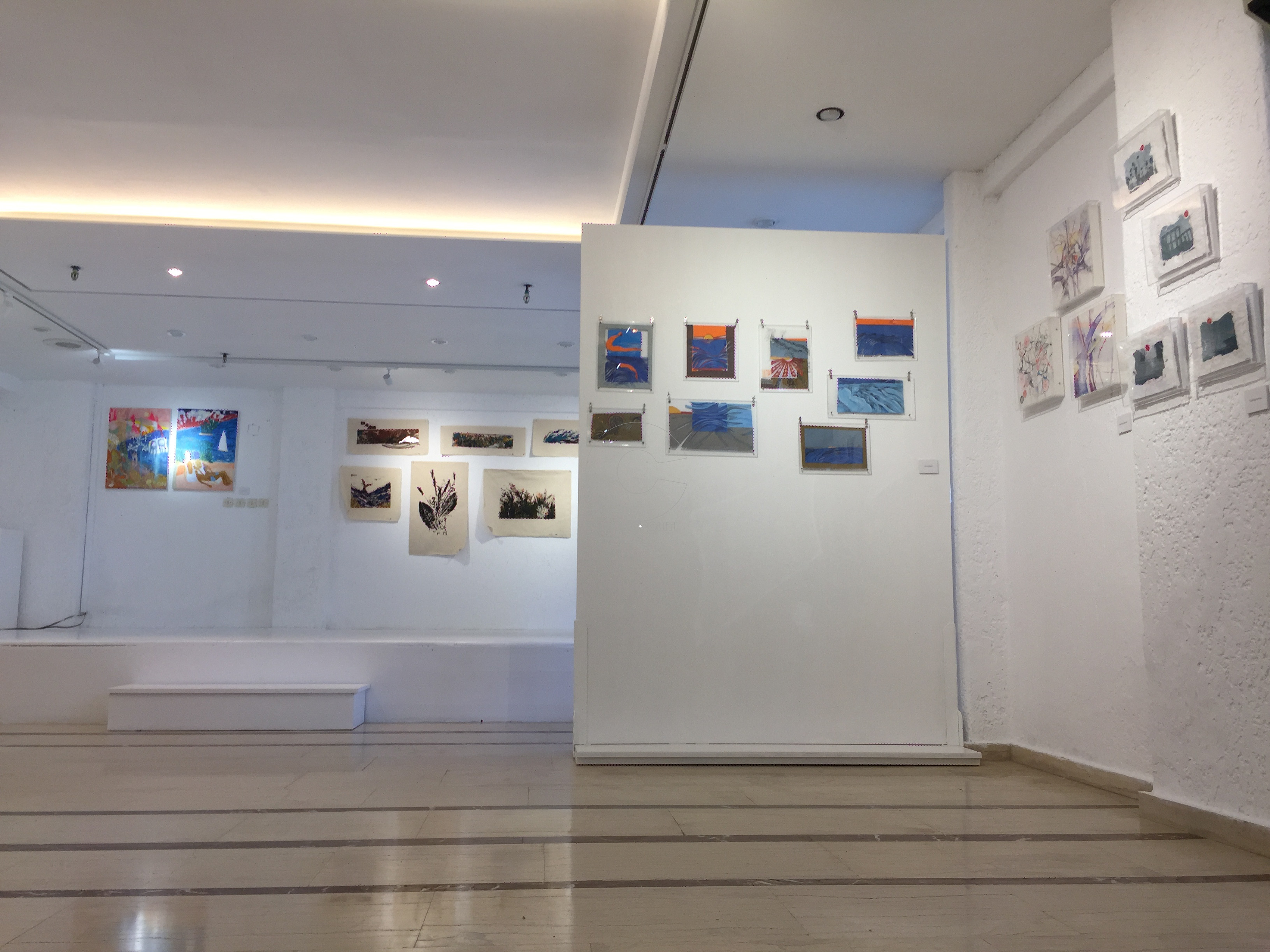 restart exhibition venus gallery mykonos