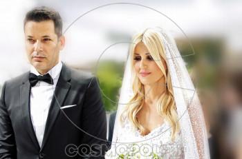 Έλενα Ράπτη: μυστικός γάμος με νυφικό Celia Kritharioti