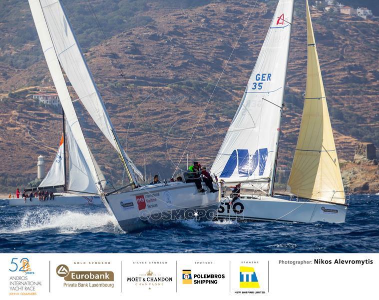 52nd Andros Int. Yacht Race ©Nikos Alevromytis