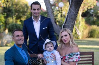 Χριστίνα Αλούπη & Κωνσταντίνος Κέφαλος: βάφτισαν τον δεύτερο γιο τους