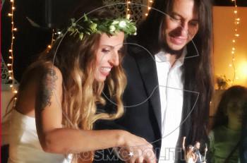 Nα ζήσετε! Παντρεύτηκαν η Ευρυδίκη και ο Μπόμπ Κατσιώνης! (αποκλειστικό βίντεο & φωτογραφίες)