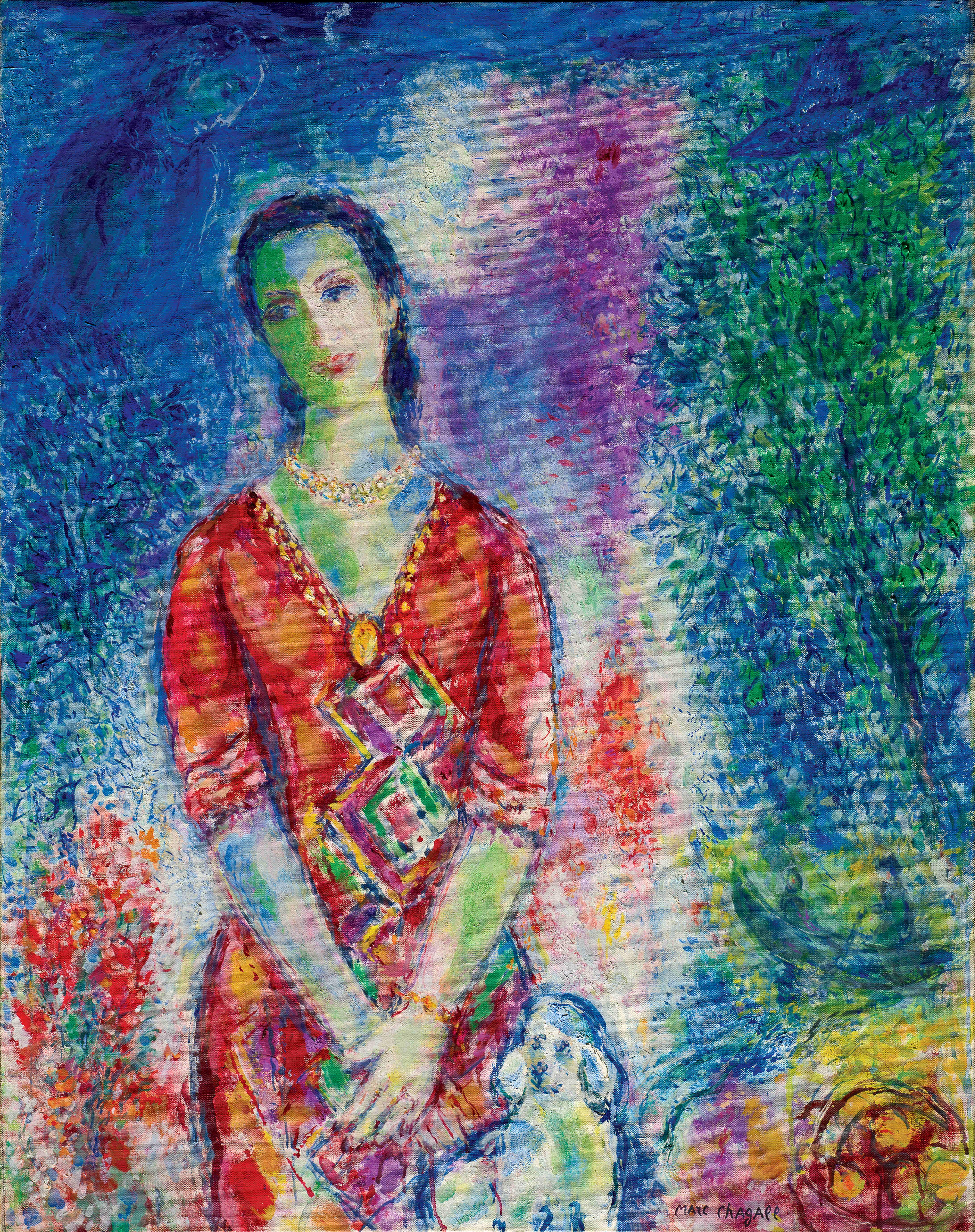Chagall Marc, Portrait de E.B.G.