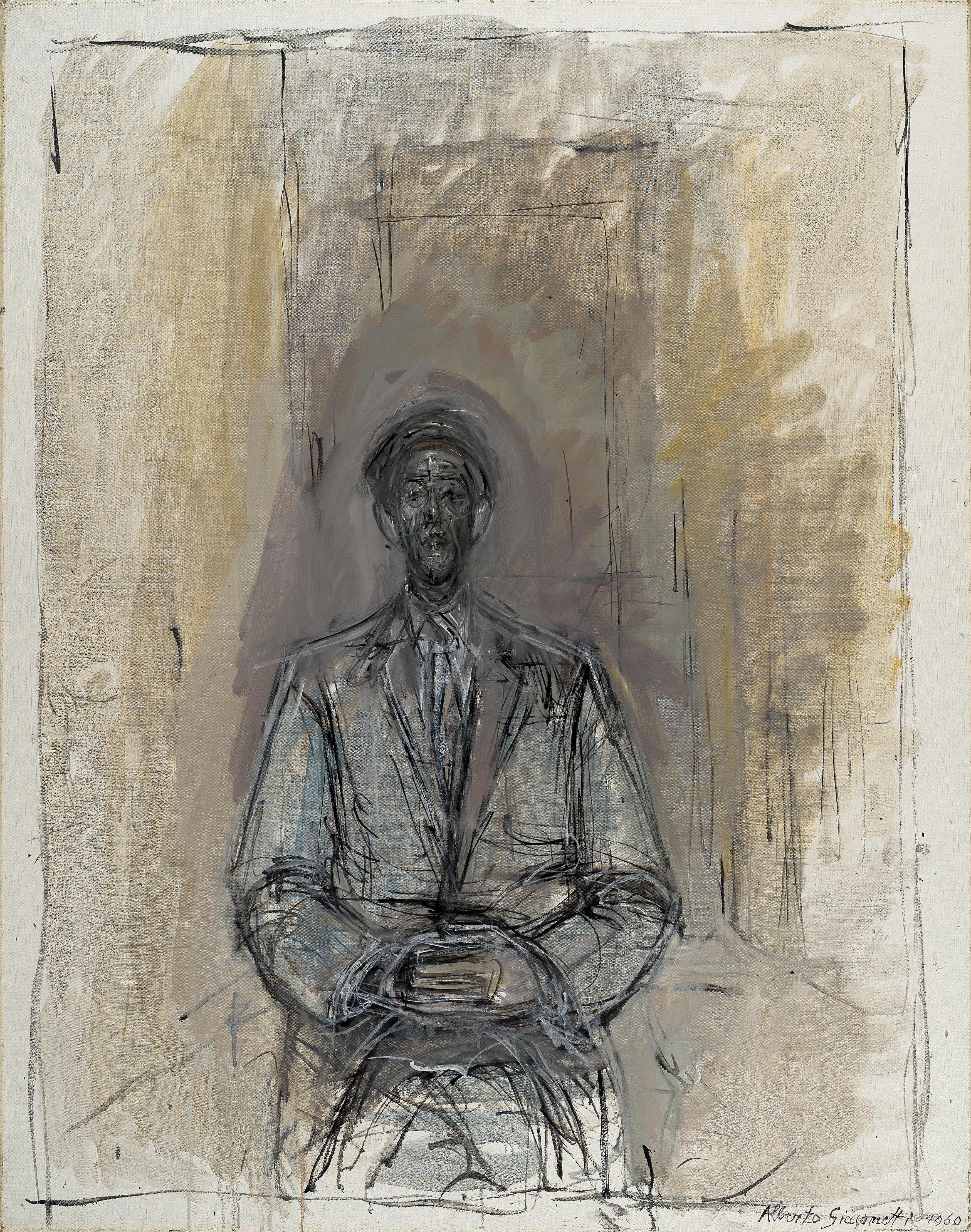 Giacometti Alberto, Portrait de Yanaihara