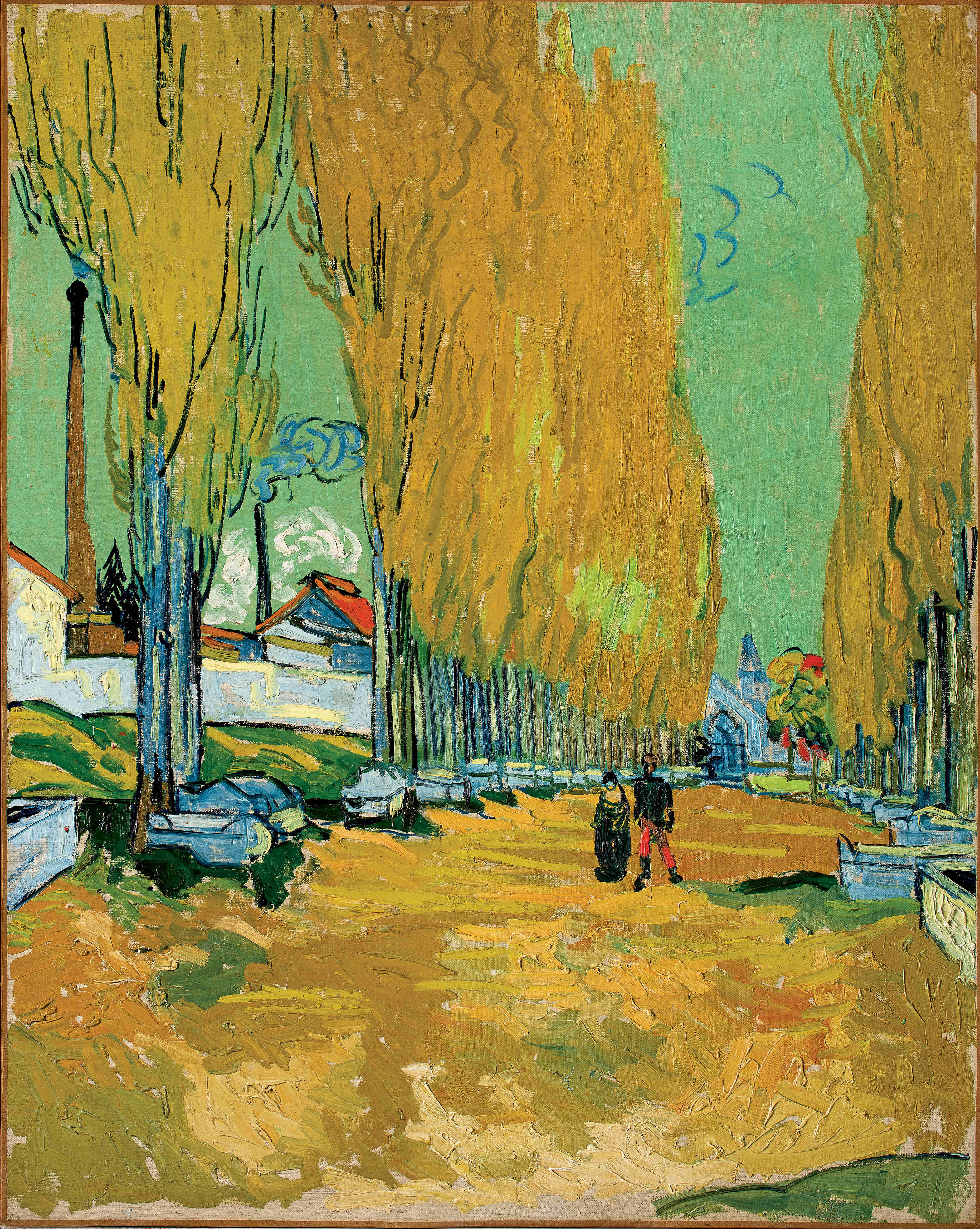 Gogh Vincent van, Les Alyscamps