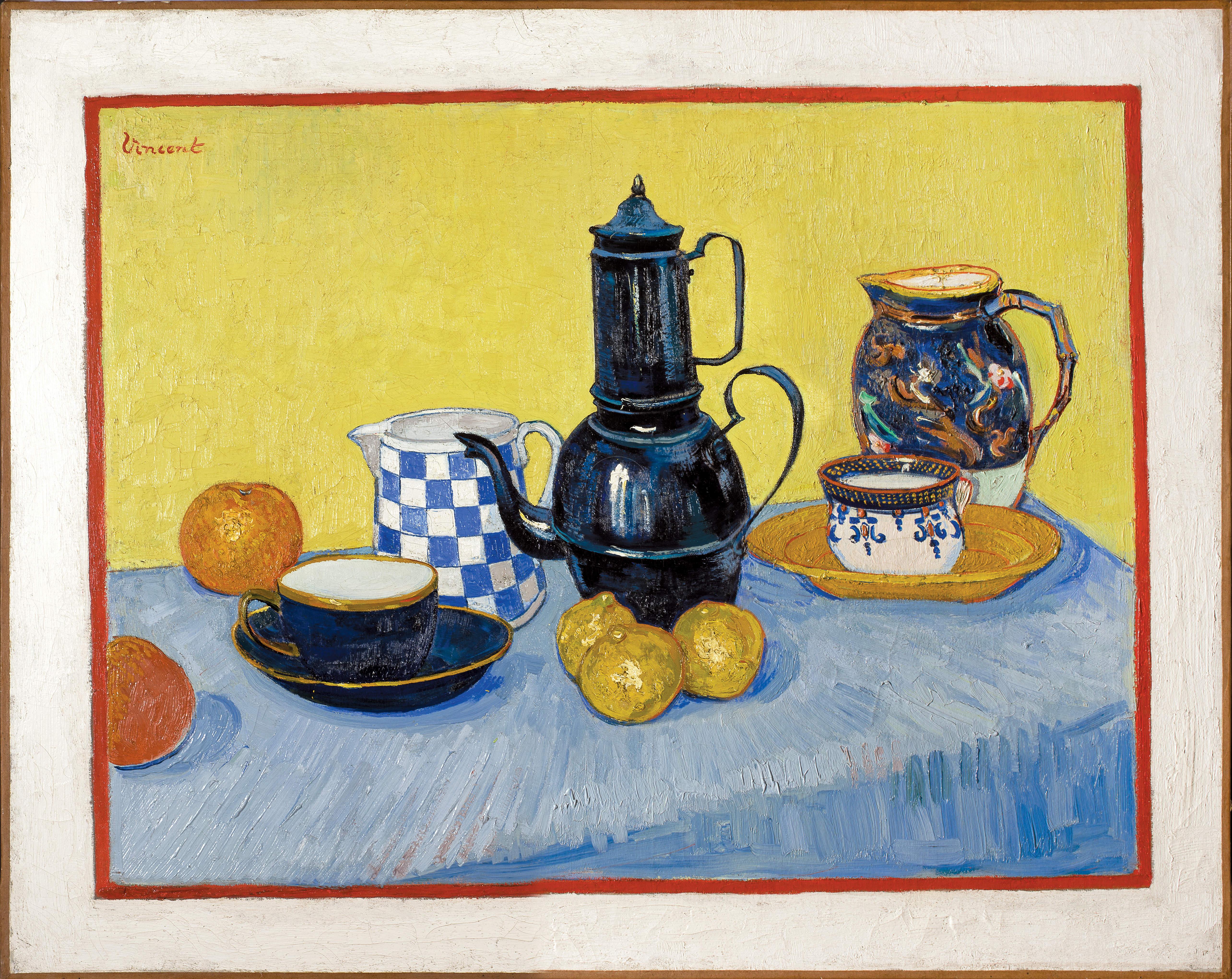 Gogh Vincent van, Nature morte a la cafetiere