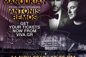 O «Νομάς της Μουσικής» Guy Manoukian έρχεται για πρώτη φορά στην Ελλάδα