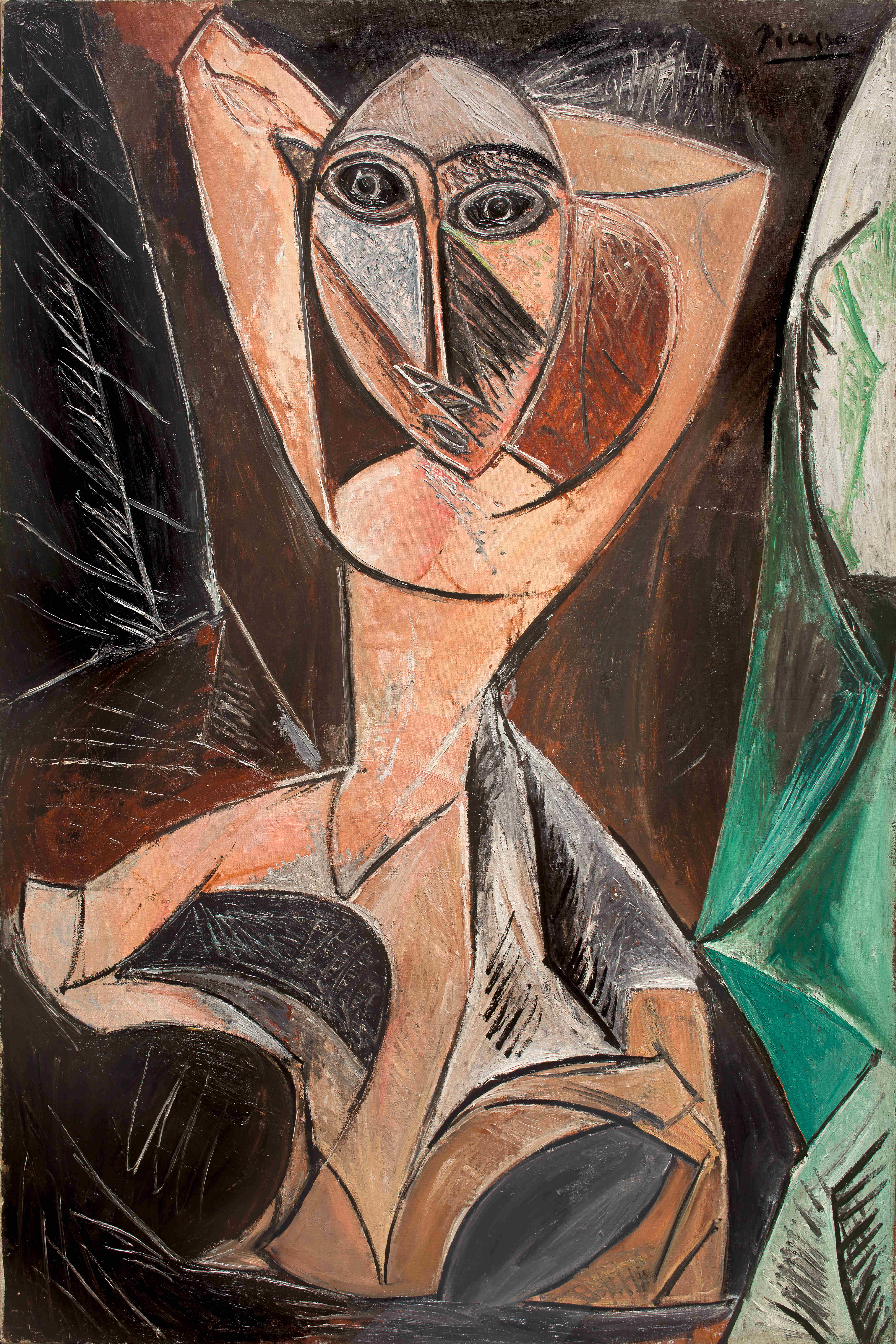 Picasso Pablo, Femme Nue aux Bras Leves