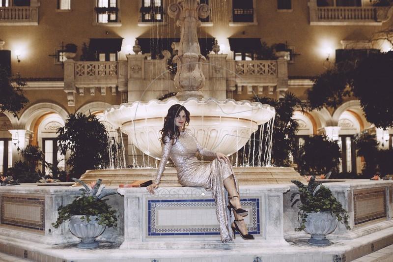 Veronica in Celia Kritharioti Couture America 2