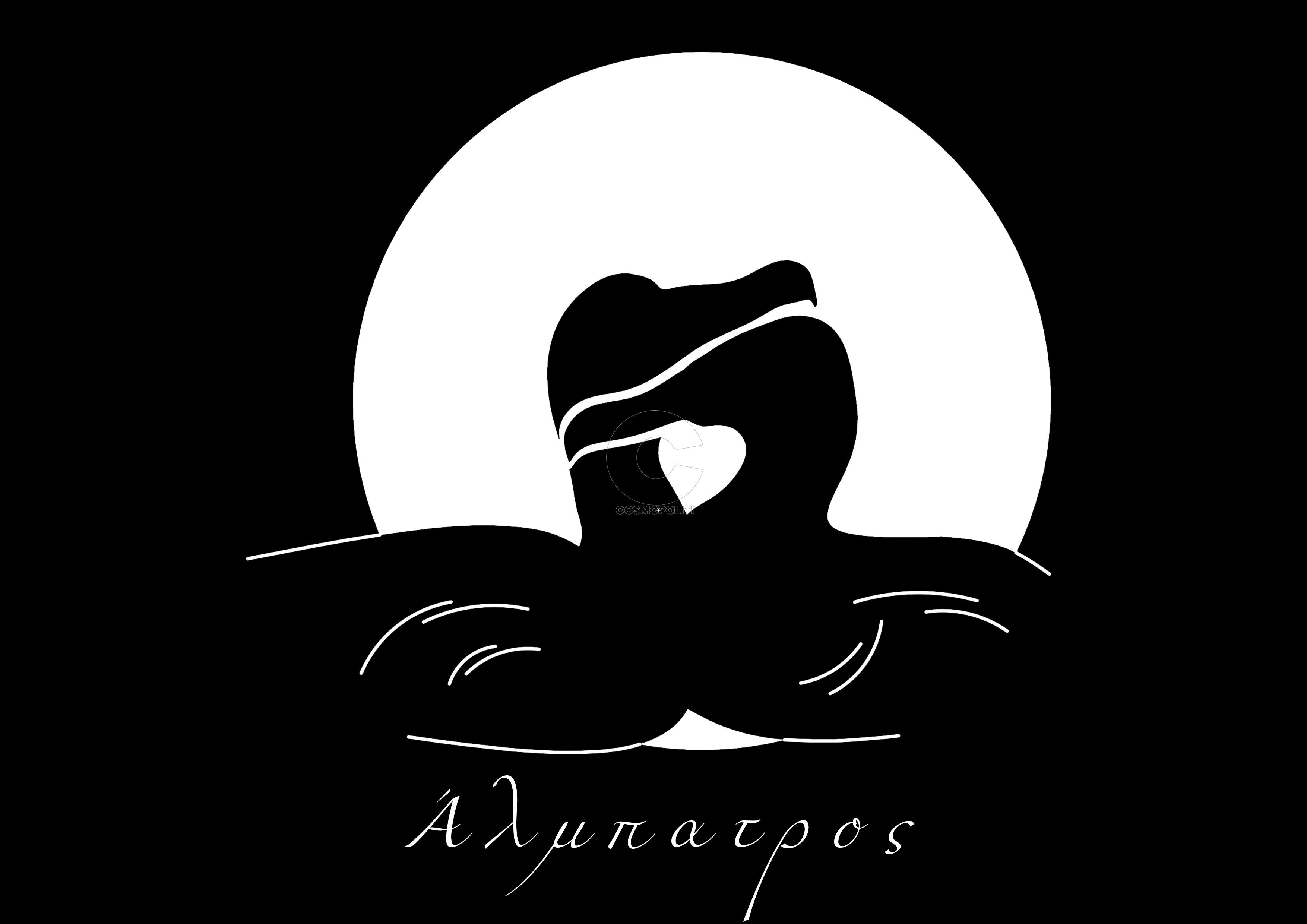 00 albatross logo a4 black