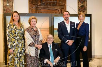 Πρίγκιπας Νικόλαος: Νέες φωτογραφίες από τα εγκαίνια της έκθεσής του