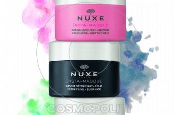 Ανακαλύψτε τις νέες insta-masques της Nuxe