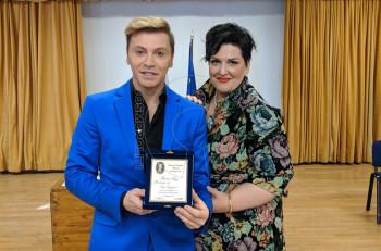 Ο Τάκης Ζαχαράτος βραβεύτηκε από την Ένωση Γυναικών Πάτρας