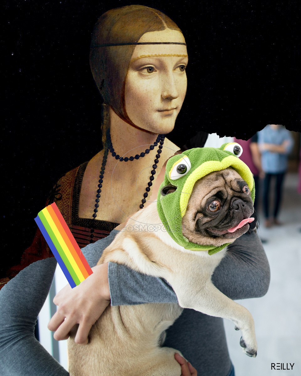 HEY-REILLY_Lady-with-a-Pug-Frog-STATIC-1