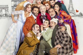 Στο θέατρο Μουσούρη έρχονται «Ψύλλοι στ' αυτιά» και γέλιο στα χείλη