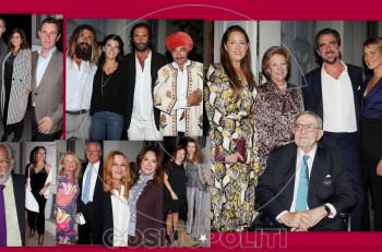 """Πρίγκιπας Νικόλαος: Λαμπερά εγκαίνια για την έκθεση """"Aegean Desert"""" στο Μουσείο Ισλαμικής Τέχνης"""