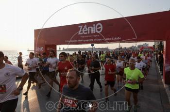 Η ΖeniΘ στήριξε τον 8ο Διεθνή Νυχτερινό Ημιμαραθώνιο  Θεσσαλονίκης 2019
