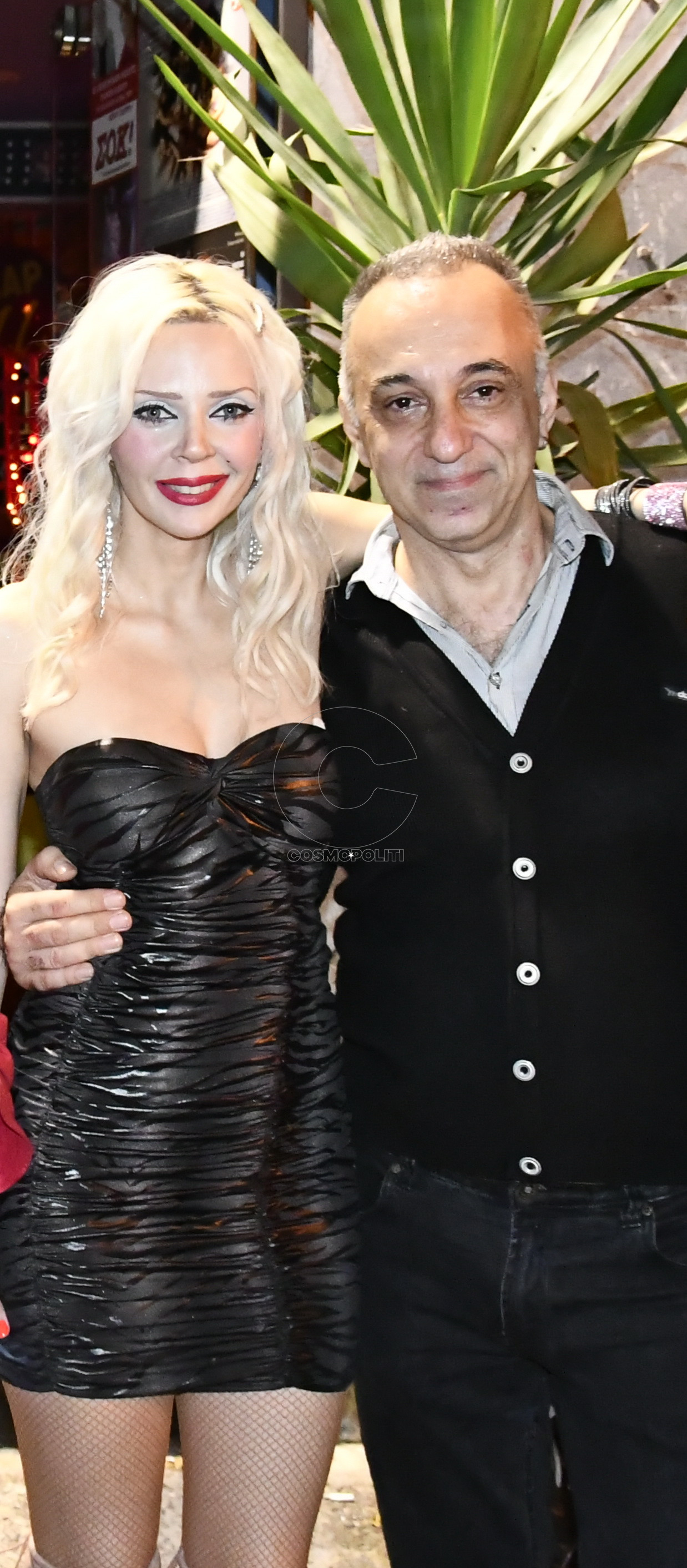 Γιώργος Λιβανός με τη Μάιρυλιν του, Νίνα Ακτύπη