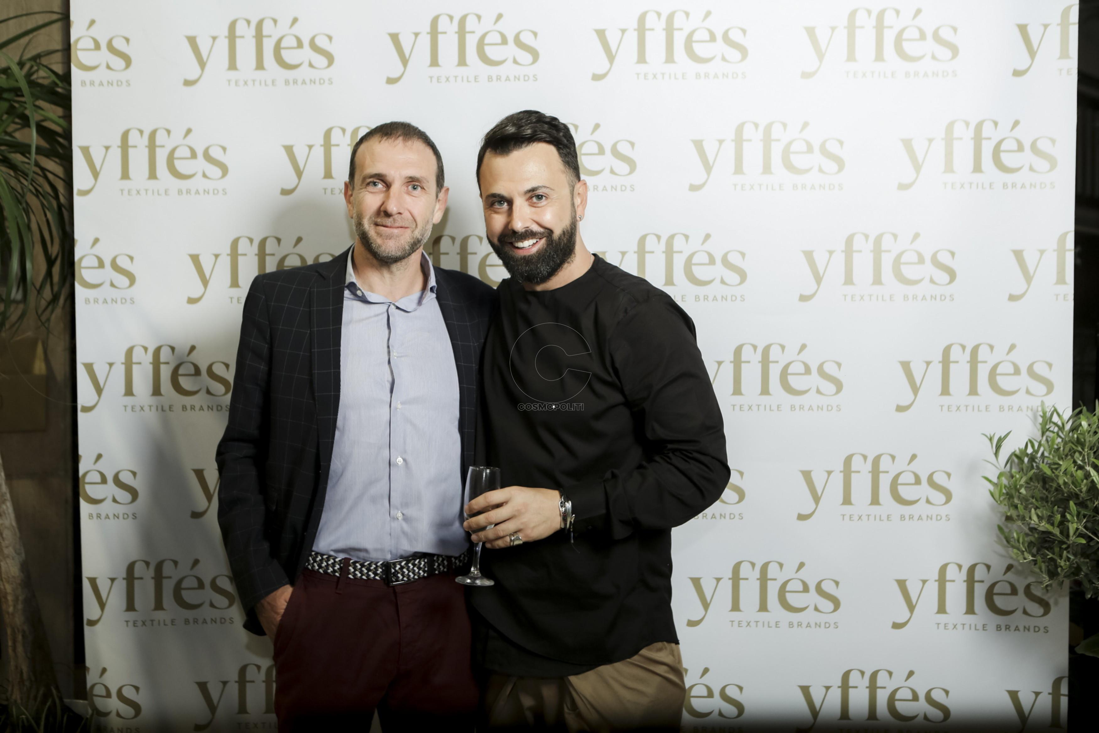 11 Ο Ανέστης Αποστολίδης με τον ιδιοκτήτη του yffes Θόδωρο Τσεντεμείδη